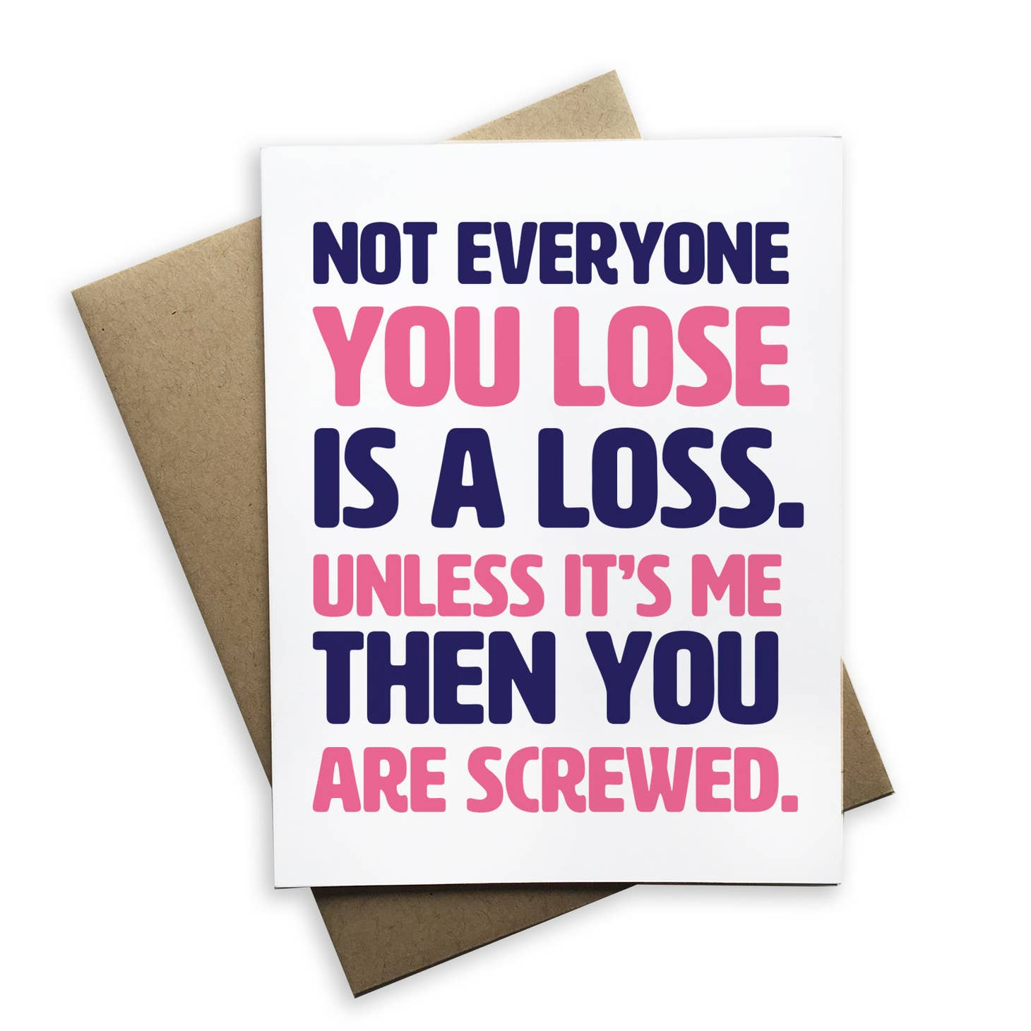 Not Everyone You Lose Is A Loss...