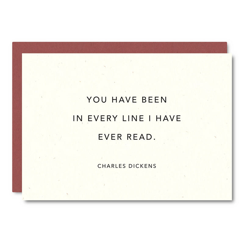 You Have Been In Every Line