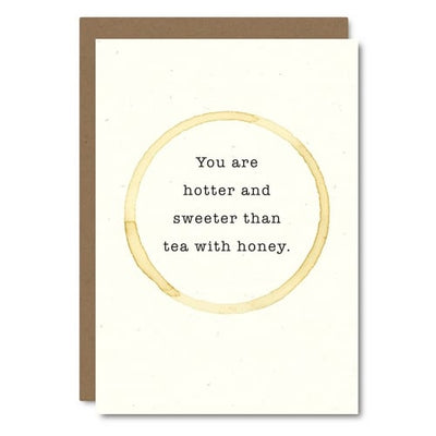 Hotter & Sweeter Card Greeting Card Little City Love - Stash Co
