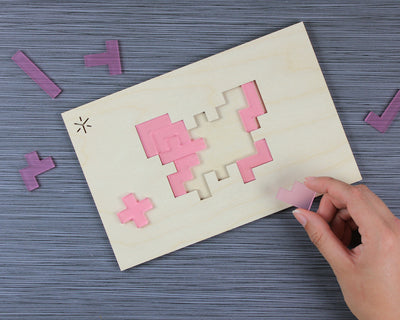 Animal Pentomino Puzzle | Butterfly