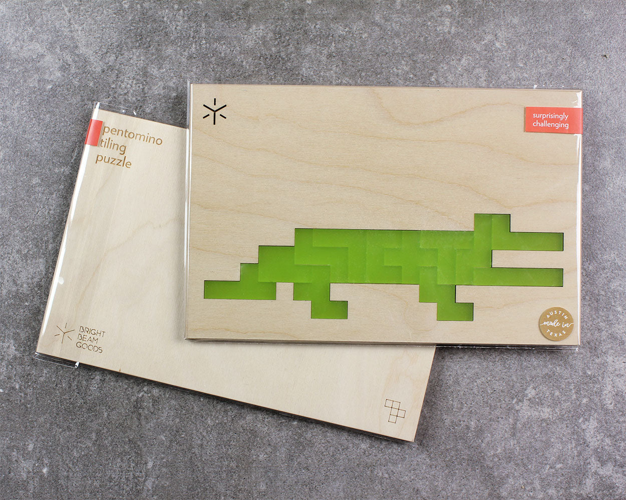 Animal Pentomino Puzzle | Crocodile Puzzle Bright Beam Goods - Stash Co