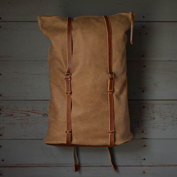 Kayak Roll Backpack | Dusty Cowboy - Stash Co