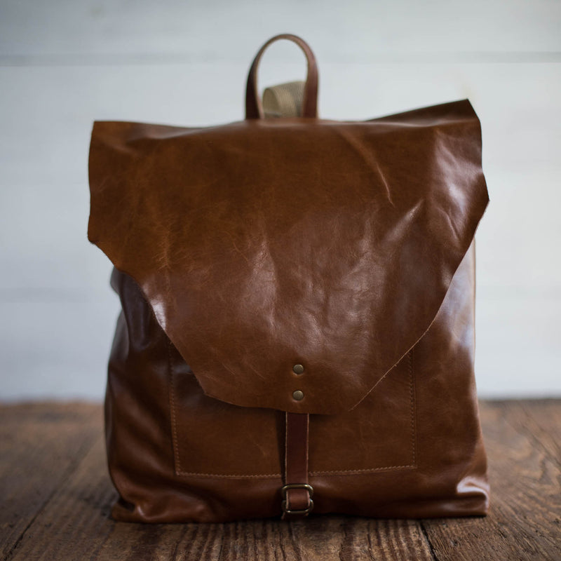 Artisan Backpack | Waxy Caramel Backpack Stash - Stash Co