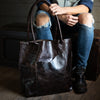 Transit Tote | Black Cherry