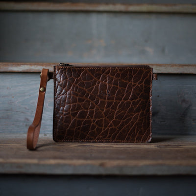 Modernist SM | Cognac Bison Modernist Stash - Stash Co