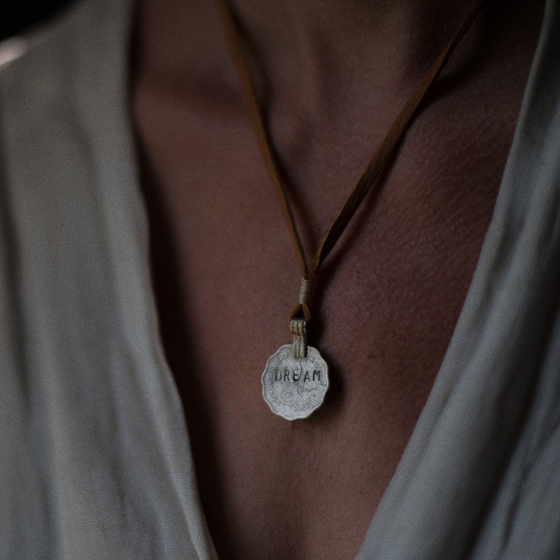 Mantra Coin | Dream Necklace Stash - Stash Co