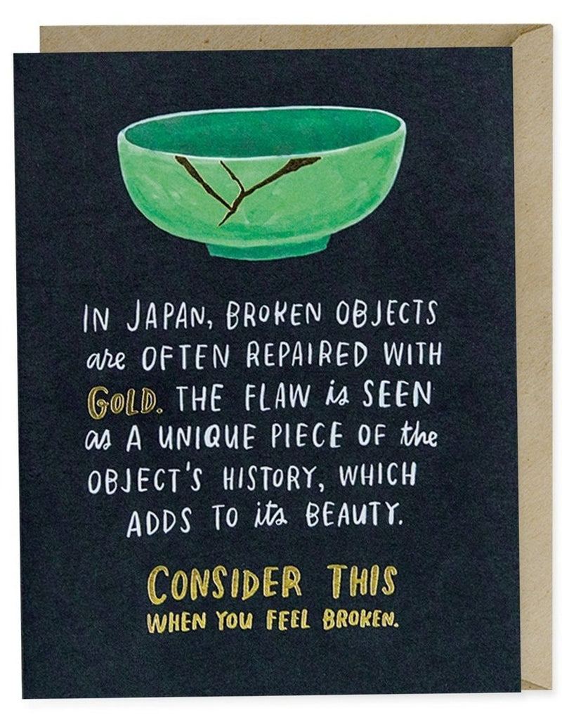 Broken Objects Empathy Card