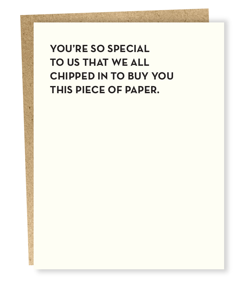 So Special Greeting Card