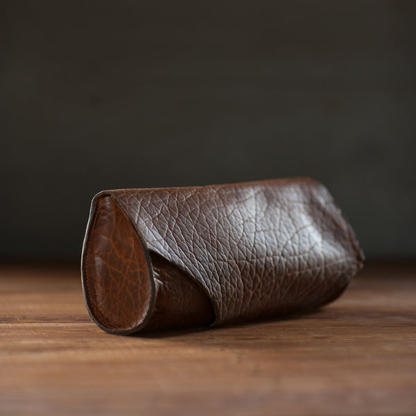 Baguette | Cognac Bison - Stash Co