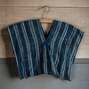 Indigo Stripe Poncho | Tiny Stash - Stash Co
