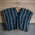 Indigo Stripe Poncho | Tiny Stash