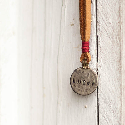 Mantra Coin | Lucky Necklace Stash - Stash Co