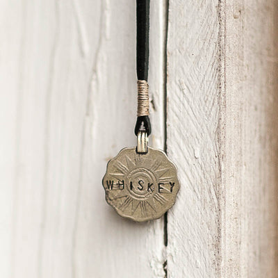 Mantra Coin | Whiskey Necklace Stash - Stash Co