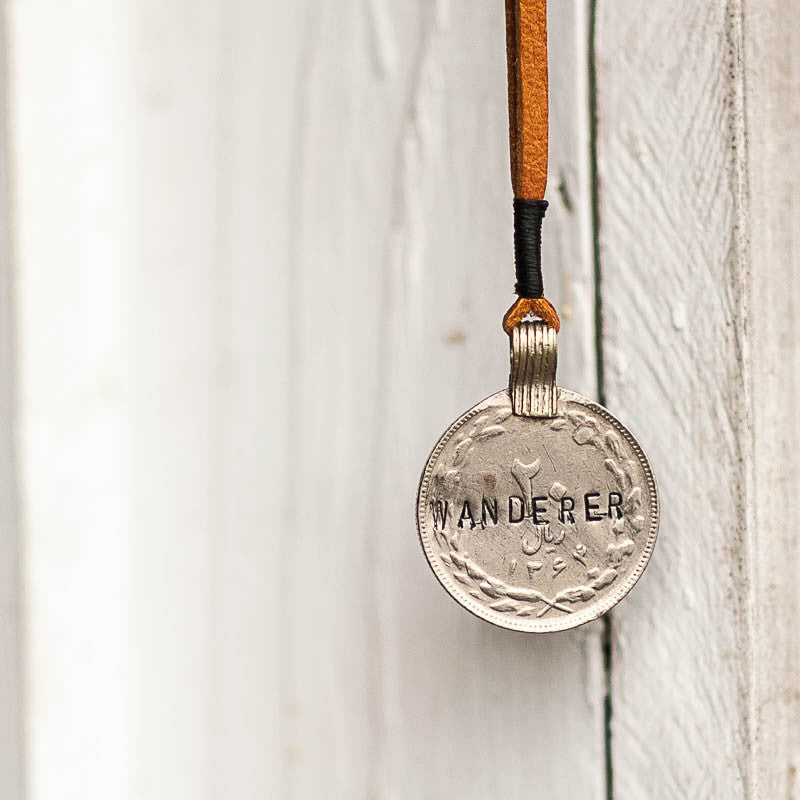 Mantra Coin | Wanderer Necklace Stash - Stash Co