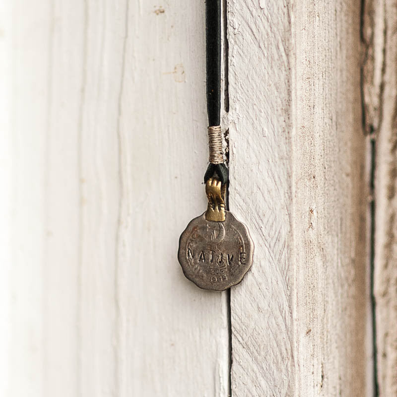 Mantra Coin | Native Necklace Stash - Stash Co