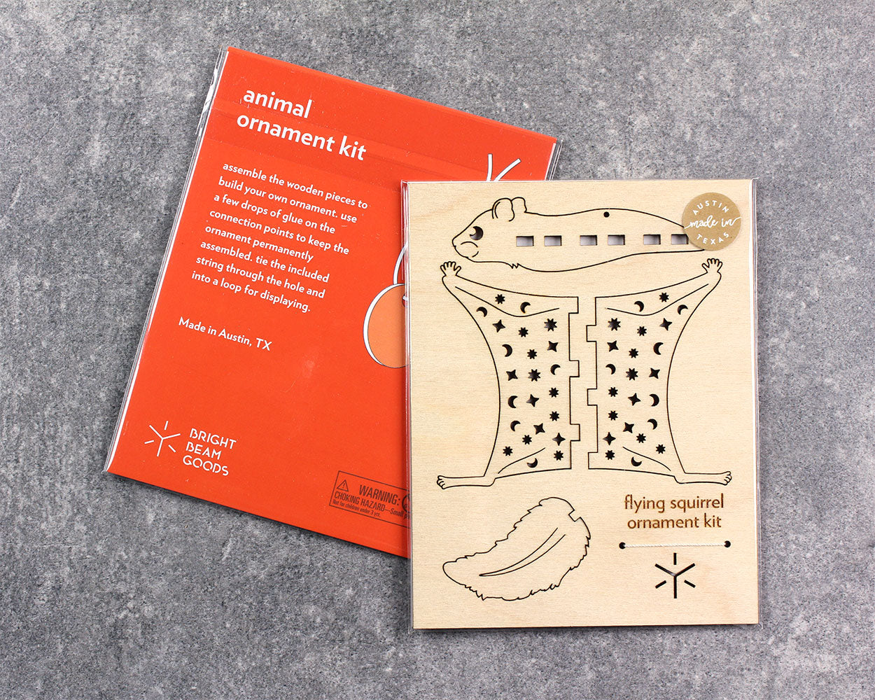 Flatpack Ornament Kit | Flying Squirrel