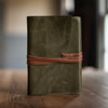 Artisan Journal with Wrap | Olive Journal Stash - Stash Co