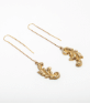 Ormolu Threader Earrings