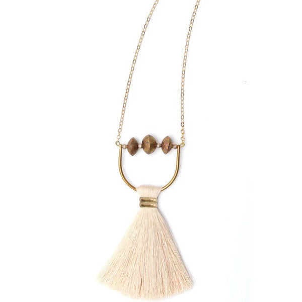 Umbra Tassel Necklace Necklace The Salt Empire - Stash Co