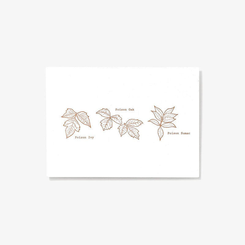 Poisonous Plants | Letterpress Card