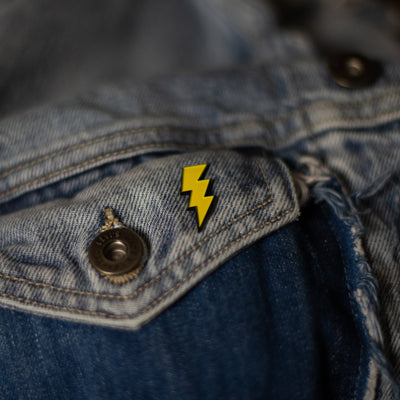 Lightning Enamel Pin