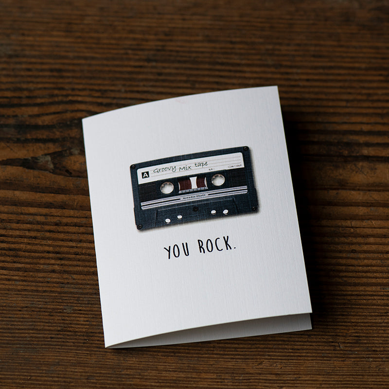 You Rock Greeting Card