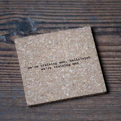 Mistaken Lyrics Coaster - It's Raining Men