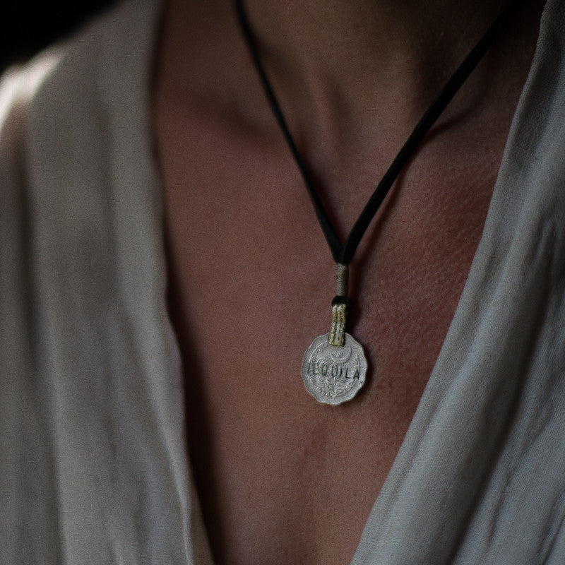 Mantra Coin | Tequila Necklace Stash - Stash Co