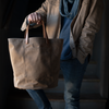 Utility Tote | Oiled Canvas