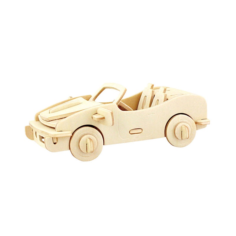 Racing Car 3D Wooden Puzzle