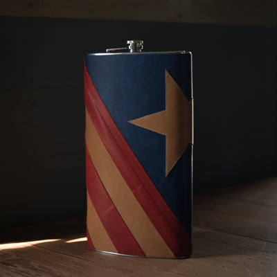 Americana Flask | LIMITED EDITION Flask Stash - Stash Co