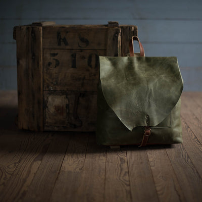 Artisan Backpack | Olive Backpack Stash - Stash Co