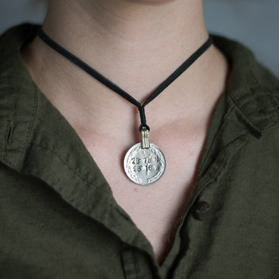 Mantra Coin | Sealy Coordinates Necklace Stash - Stash Co