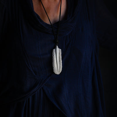 Feather Bone Necklace