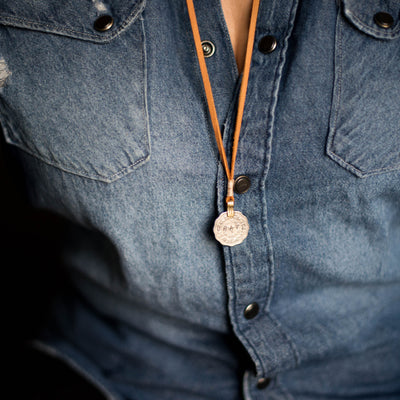 Mantra Coin | Brave Necklace Stash - Stash Co