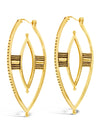 Sierra Winter Jewelry - Warrior Earrings (Gold Vermeil)