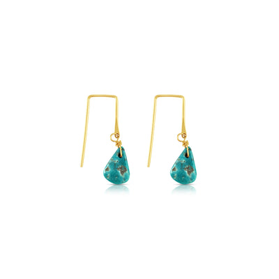 Sierra Winter Jewelry - Turquoise Sunset Earrings