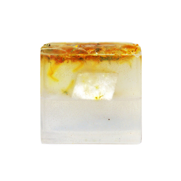 Calcite + Eucalyptus + Calendula Flower Bar - Stash Co