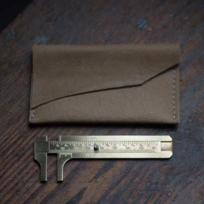 Brass Caliper + Pouch Tool Stash Found - Stash Co