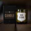 Red Cedar Candle Candle Izola - Stash Co