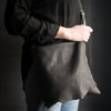 Crossbody | Black Deerskin
