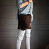 Crossbody | Tobacco Hair Hide Crossbody Stash - Stash Co