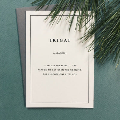 Little City Love - Ikigai Card