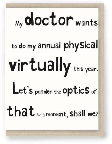 My Doctor Wants to Do My Annual Physical Virtually This Yea