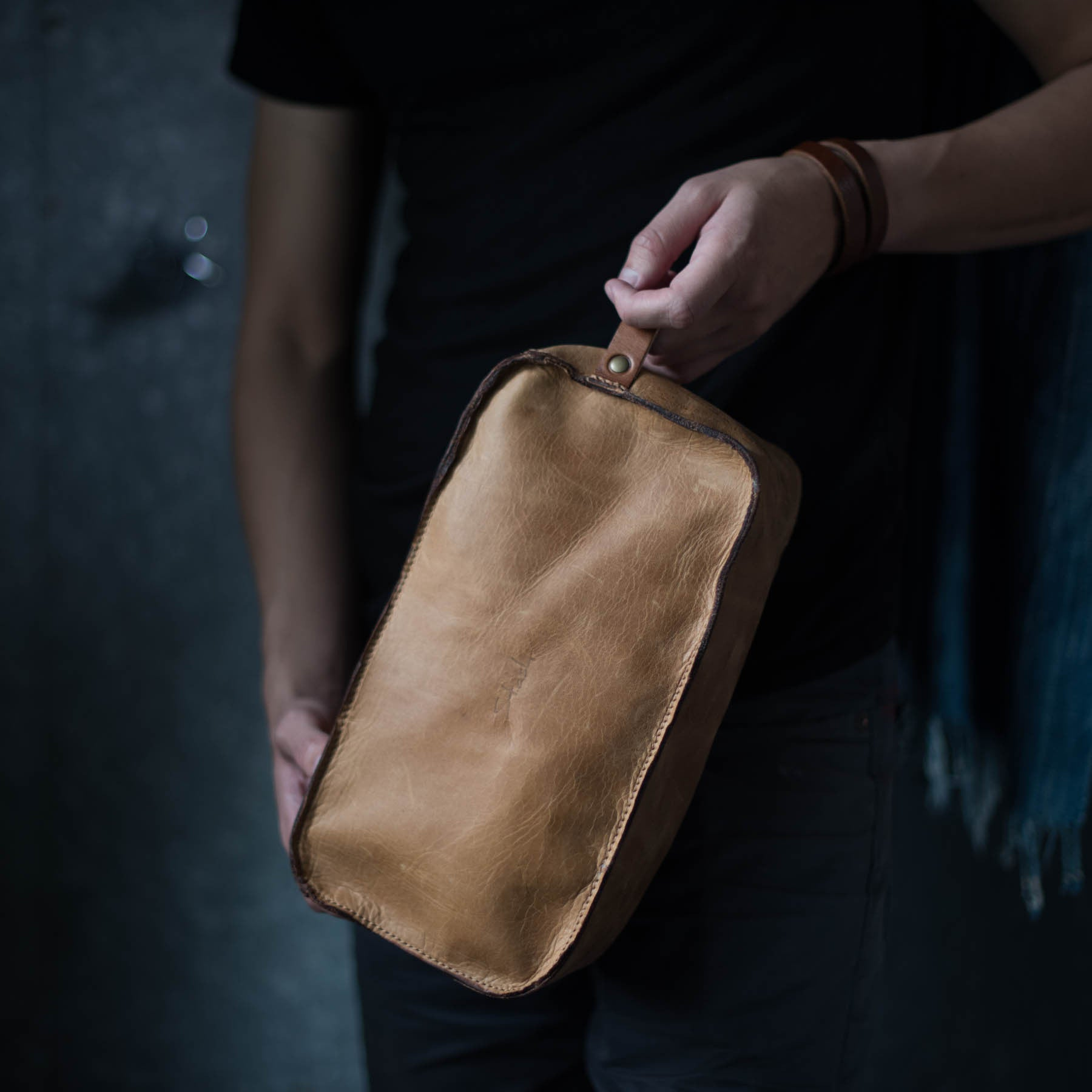 Dopp Kit | Caramel Dopp Kit Stash - Stash Co