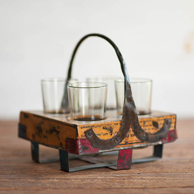 Metal Drink Tray - Stash Co
