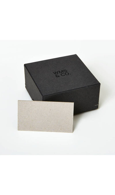 Grey Business Cards | Gold Foil