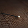 Small Spike Necklace | Black Chain - Stash Co