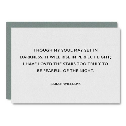 Sarah Williams Card