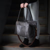 Transit Duffle | Gunmetal Hair Hide